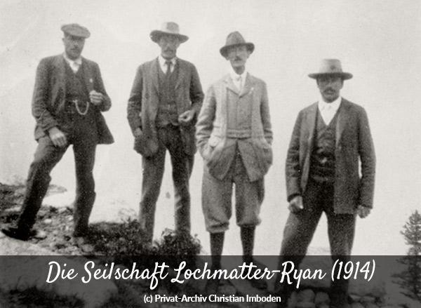Die Seilschaft Lochmatter-Ryan
