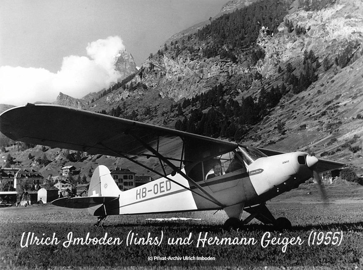 Ulrich Imboden und Hermann Geiger (1955)